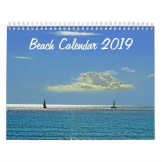 Beach Calendar 2019