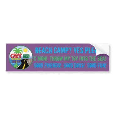 Beach Themed Beach Camp 2017 Sticker