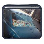 Beach Car, Art Car Window Displays Beach Toys iPad Sleeve
