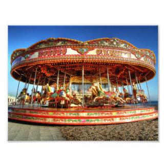 Beach Carousel Photo Print