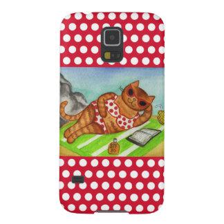 Beach Cat Samsung Galaxy S5 Case