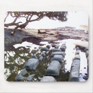 Beach Causeway Mouse Pad
