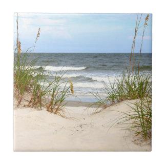 Beach Ceramic Tile