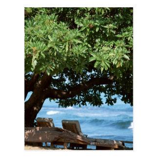 Beach Chair 2 Postcard