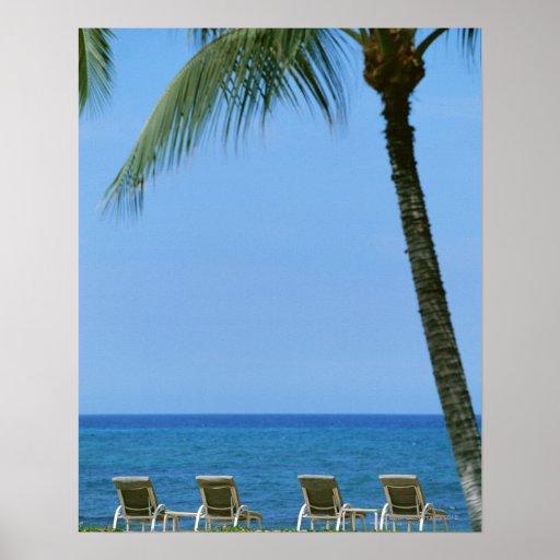 Beach Chair 3 Print
