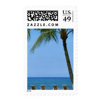 Beach Chair 3 Stamp