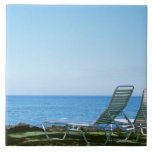 Beach Chair 4 Ceramic Tile