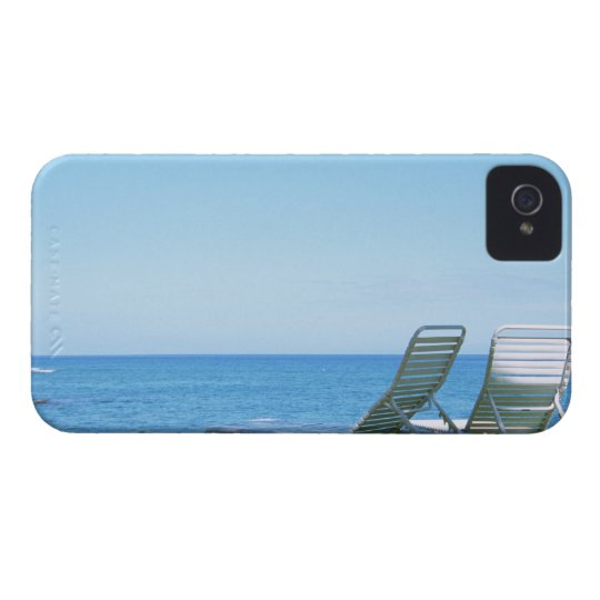Beach Chair 4 iPhone 4 Cover