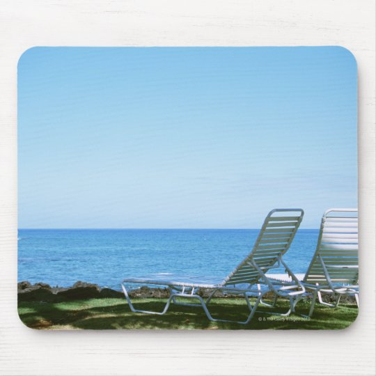 Beach Chair 4 Mouse Pad