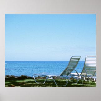 Beach Chair 4 Print