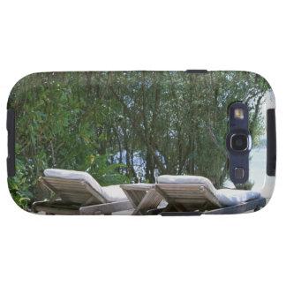 Beach Chair 5 Galaxy SIII Covers