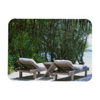 Beach Chair 5 Magnet