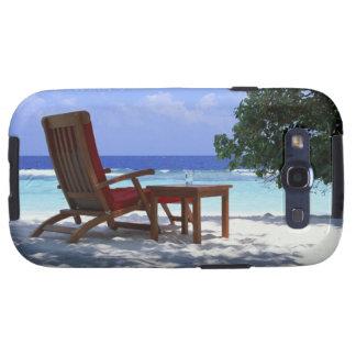 Beach Chair 6 Samsung Galaxy S3 Cover