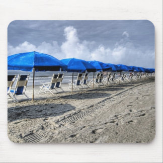 Beach Chair and Umbrella Mousepad