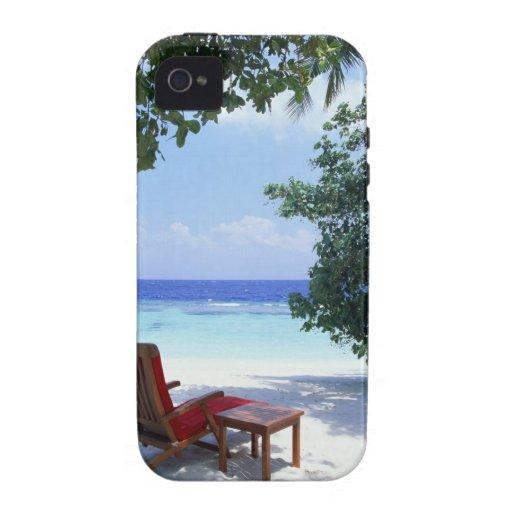 Beach Chair iPhone 4/4S Cases