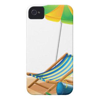 Beach chair iPhone 4 case