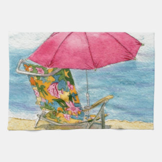 Beach Chair Kitchen Towels