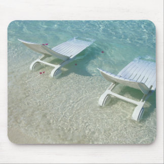 Beach Chair Mouse Pad