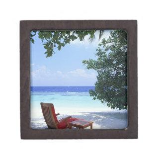 Beach Chair Premium Keepsake Boxes