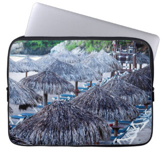 Beach Chairs And Shelters Laptop Sleeves