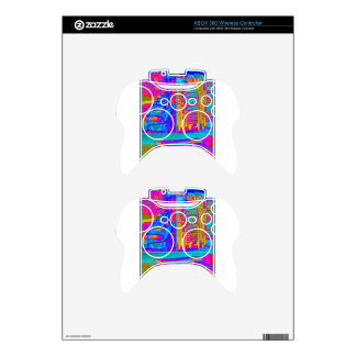 Beach Chairs Collage 14.jpg Xbox 360 Controller Decal