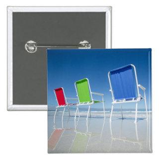 Beach Chairs In Australia Pinback Button