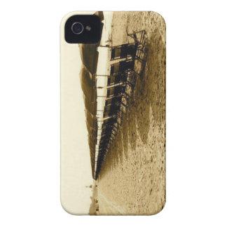Beach Chairs iPhone 4 Case-Mate Case