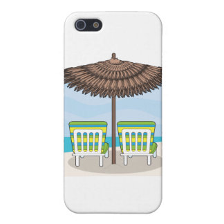 Beach Chairs iPhone 5 Cover