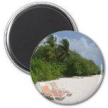 Beach Chairs Magnets