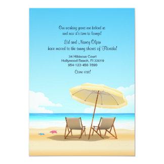 Beach Chairs Moving Announcement