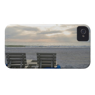 Beach chairs on St. Pete's beach at sunset. Case-Mate iPhone 4 Case