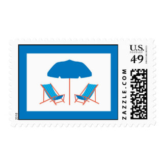 Beach Chairs Postage