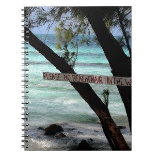Beach Chairs Rum Point Grand Cayman Notebooks
