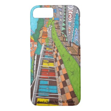 Beach Chalets iPhone 8/7 Case