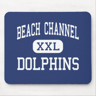 Beach Channel - Dolphins - High - Rockaway Park Mouse Pad