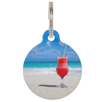 Beach Cheer Pet ID Tags