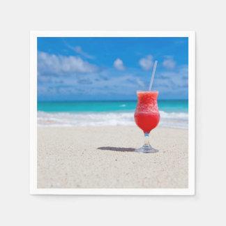 Beach Cheer Standard Cocktail Napkin