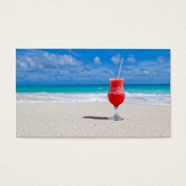 Beach Themed Beach Cheers Business Card