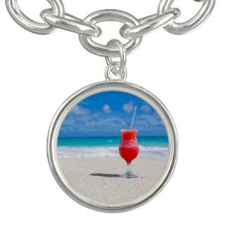 Beach Cheers Charm Bracelet