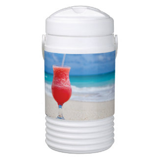 Beach Cheers Igloo Beverage Dispenser