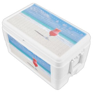 Beach Cheers Igloo Chest Cooler