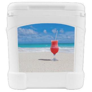 Beach Cheers Igloo Roller Cooler
