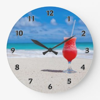 Personalized Beach Clocks