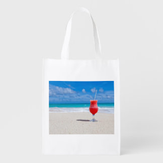 Beach Cheers Reusable Grocery Bags