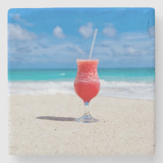 Beach Cheers Stone Coaster