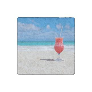 Beach Cheers Stone Magnet