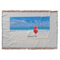 Beach Cheers Throw Blanket