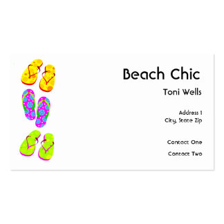 Beach Chic Business Cards