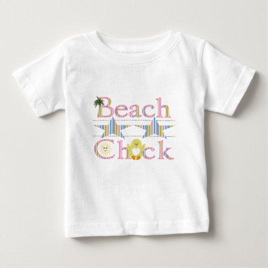 Beach Chick Baby T-Shirt