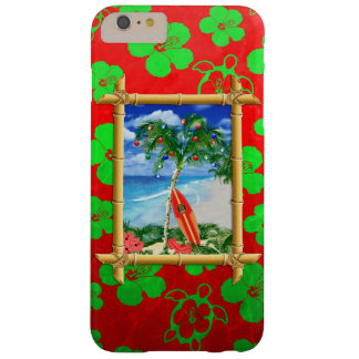 Beach Christmas Barely There iPhone 6 Plus Case